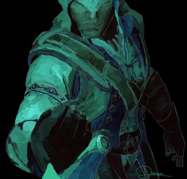 Connor Kenway by Daniquee502