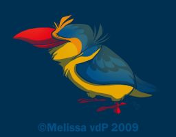 Malachite Kingfisher 2 by sketchinthoughts