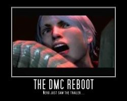 Nero's reaction-Dmc Reboot by RoxieRhapsodos