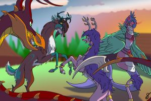 Digimon Tag-Team 2014 by PamPoke