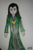 Art Trade: Loki by HinataFox790