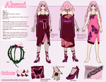Akemi Ref Sheet Commission by Shattered-Earth