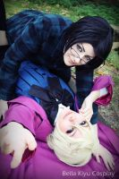 Alois Trancy x Claude Faustus by BellaKiyu
