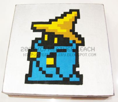 Final Fantasy - Black Mage by 8bitgallery