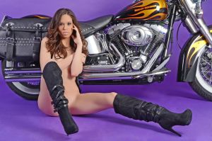 Christine harley shoot 2 by Badassphotoguy