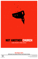Not Another Church Poster by mscorley