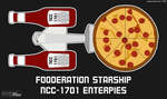 Fooderation Starship Enterpies by BlaydeXi