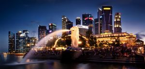 Merlion by palmbook