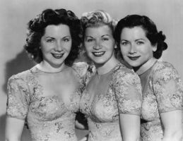 The Fontane Sisters-Geri,Marge and Bea 1948 by slr1238