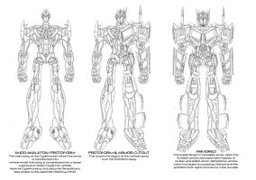 Ultimate Optimus Prime concept by Ra88