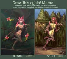 LoL: Zyra (Before and after) by Ant-Agony