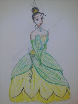 sketchy Tiana by autumnrose83