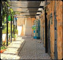 The gallery's yard by ShlomitMessica