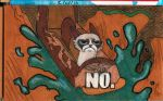 Grumpy cat does splash mountain by jEROMEaNIMATIONS