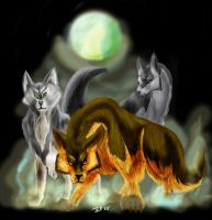 The Wolfs Mist -gift- by FloridianPirate