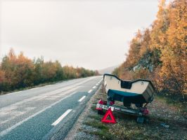 100914 - Norway - Road E75 by JakezDaniel