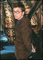 Doctor Who  - The Tenth Doctor by caldwellart