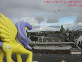Galway Rooftops by FallSilently