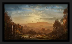 Ye Olde Landscape - Speed Painting by Wolfgan