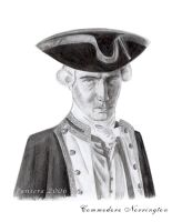 JD as Norrington by The-Black-Panther