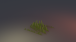 Low poly Grass by lithium-sound