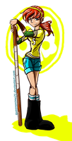 April O'Neil by QueenAnime21