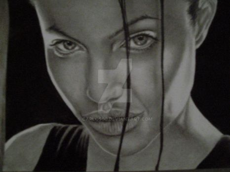angelina jolie by carlos05