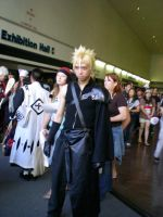 Cloud Strife by obitoxuchihaxlover