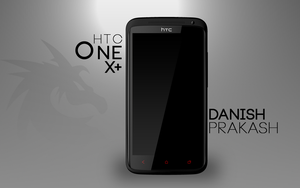 HTC One X+ [psd] by danishprakash