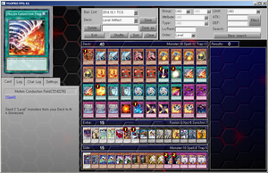 Yu-Gi-Oh! YGOPRO TCG Deck - Laval/Artifact by YGOPROPro