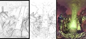 Exalted Cover Progression by UdonCrew