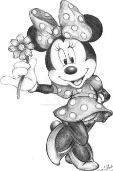 Minnie Mouse by linus108Nicole