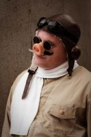 Porco Rosso Cosplay 2 by JonShelton