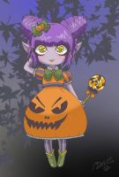 Halloween Chibi 2k13 - Bright by DeadPeppermint
