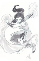 Daily Sketches: Korra 7 by mainasha