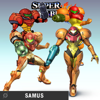 Super Smash Bros: Samus by BatNight768