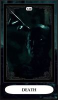 Hannibal Tarot: XIII - Death by DarkFairyoftheWood