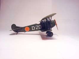 Dutch Fokker D.VII MLD 011 by BlokkStox
