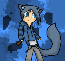 Human Jayfeather by TheSlendermanIsHere