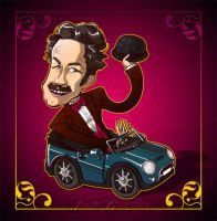 Paul F. Tompkins by JadeGordon