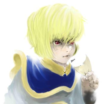 Kurapika by LaPetiteTriforce