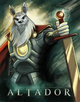 The Mighty King Altador by aquanut
