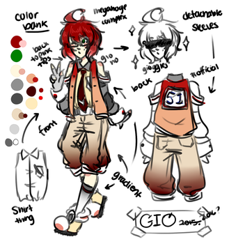 UTAU: GIO [ OFFICIAL CONCEPT ART 2015 ] by Mochi-lover