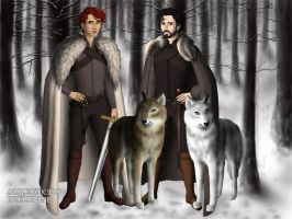 Brothers by BlackRoseOfSummer