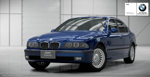 BMW E39 5 series front by Schaefft