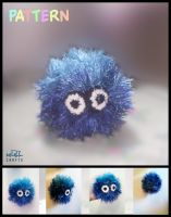 Fur Little Monster.. Crochet by GehadMekki