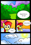Apple Bloom's Tree: Page 1 by NeonCabaret