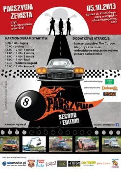 Parszywa Wreck Race 2nd edition poster by Verine