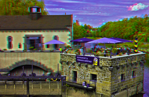 Vierradenmuehle in Goerlitz 3D ::: HDR Anaglyph by zour