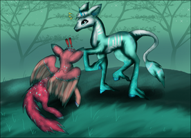 . : First Minkin Encounter : . by Jahpan